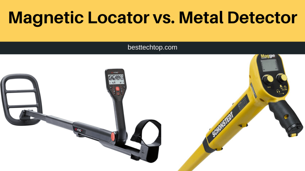 Magnetic Locator vs Metal Detector