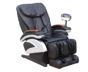 Electric Full Body Shiatsu Massage Chair Recliner Stretched Foot review