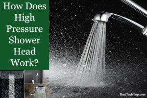 How Does High Pressure Shower Head Work